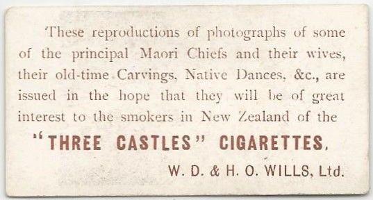 Willd Maori Series Back